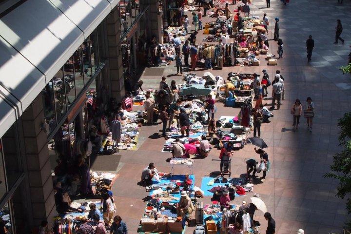 Shinagawa Intercity Flea Market