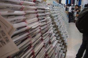 Screentones usados na confecção de mangás