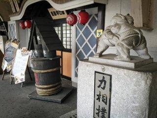 Sumo Statues