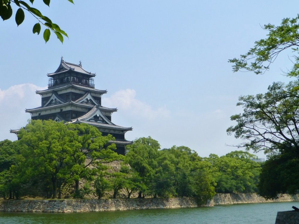The Hiroshima Castle in all its glory