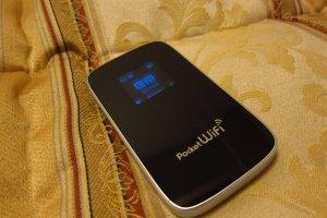 Pocket Wi-Fi in the Bedroom