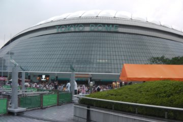 Giants Baseball Game at Tokyo Dome