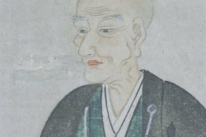 Matsudaira Fumai, tea master and lord of Matsue who commissioned Meimei-an