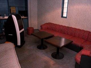 The Karaoke room can be used on request for parties.