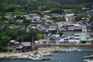 Traveling to Ojika Island is like traveling back in time to good old Japan.
