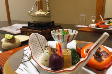 The Detail of Kaiseki Cuisine