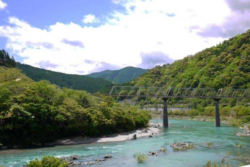 Shimanto River, \