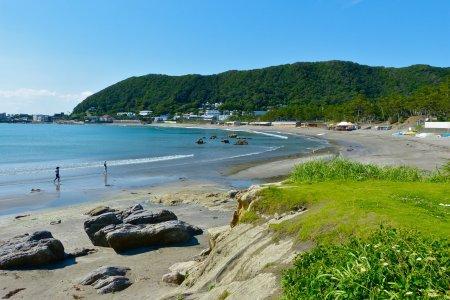 Hayama Isshiki Beach in June