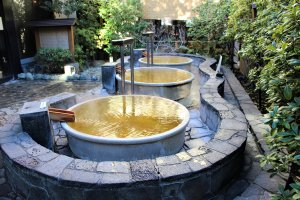 Pot-shaped baths