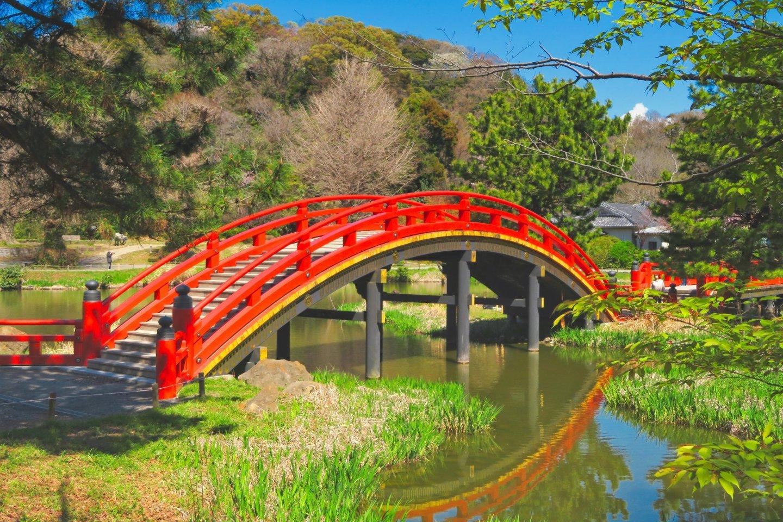 Arch Bridge in April