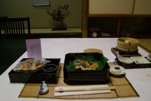 I enjoyed my meals in my room
