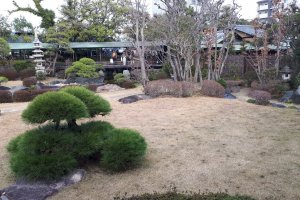 Winter at Suikei-en