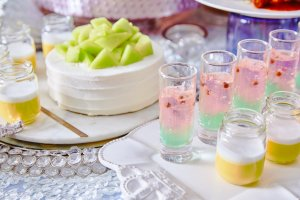 Mermaid-inspired desserts