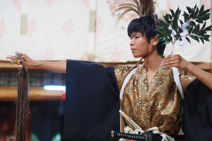 Dancing for Amaterasu