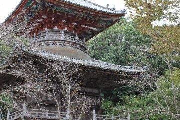 Kumadani-ji in Awa-shi