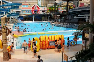 Fukushima's Spa Resort Hawaiians