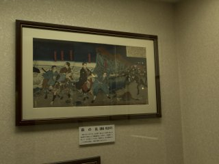 Ukiyo-e is my favourite art form and this print was spectacular at the Metropolitan Police Museum at Kyobashi