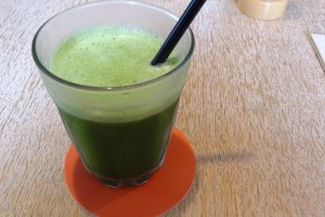 bills daily greens juice (¥700)