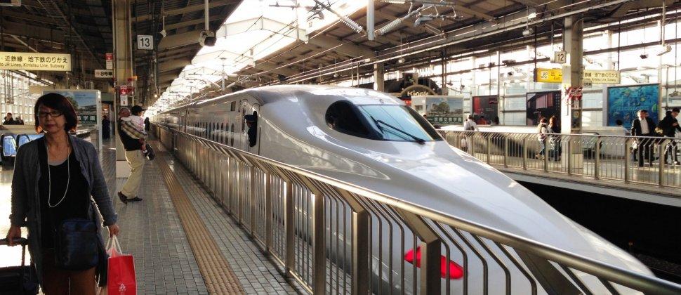 De Tokio a Kioto en tren Shinkansen