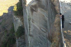 50m cliff