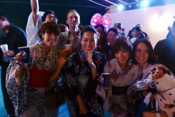 Tokyo Bay Yukata Cruise Party - July 7 (Sat)