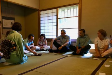 Make Wagashi Sweets and Attend a Tea Ceremony - April 6