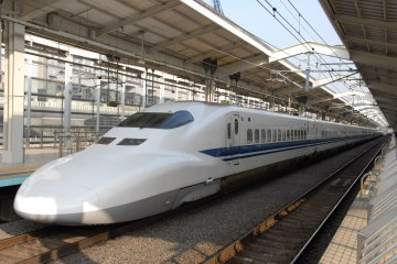Shinkansen Bullet Train Tickets Between Tokyo and Kyoto