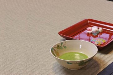 Enjoy a Tea Ceremony with Special Sweets in Kyoto