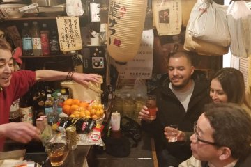 Tokyo Local Bar Hopping: Midnight Diners
