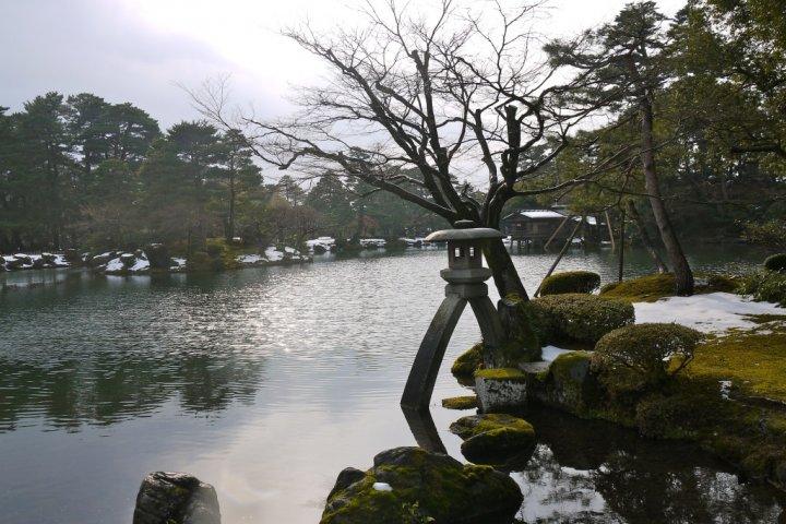 Kenrokuen: A Park for Winter's End
