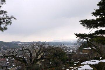 View of Kanazawa City from Kenrokuen