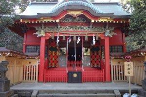 Nakatsu-no-miya Shrine .