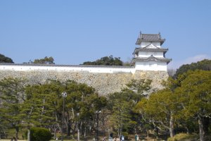 Yagura (tower) of the castle