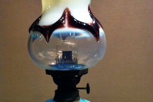 Splash! Art deco lamp