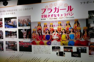 <p>This panel details the Hula Girls trip around Japan to spread cheer and raise donations after the 2011 earthquake and tsunami.&nbsp;</p>