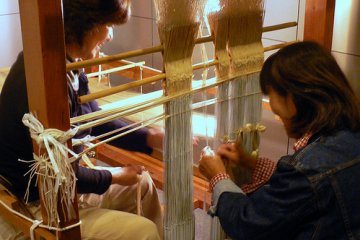 <p>check out the weaving displays at the museum of handicrafts</p>