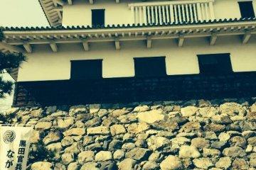 長浜城から望む戦国合戦地