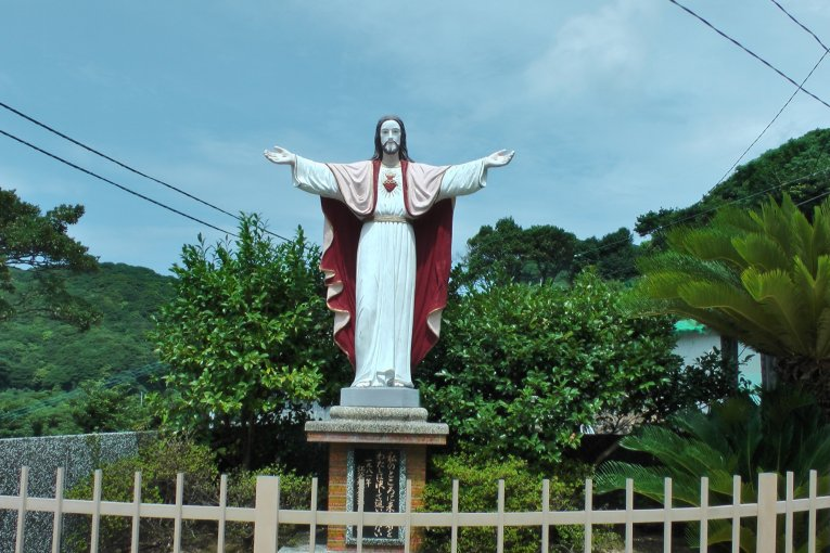 長崎、上五島巡り 1: 江袋教会