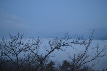 <p>There was a break. Looking towards Miyazu.</p>