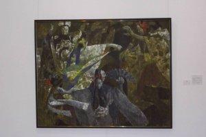 Torajiro Kojima painting