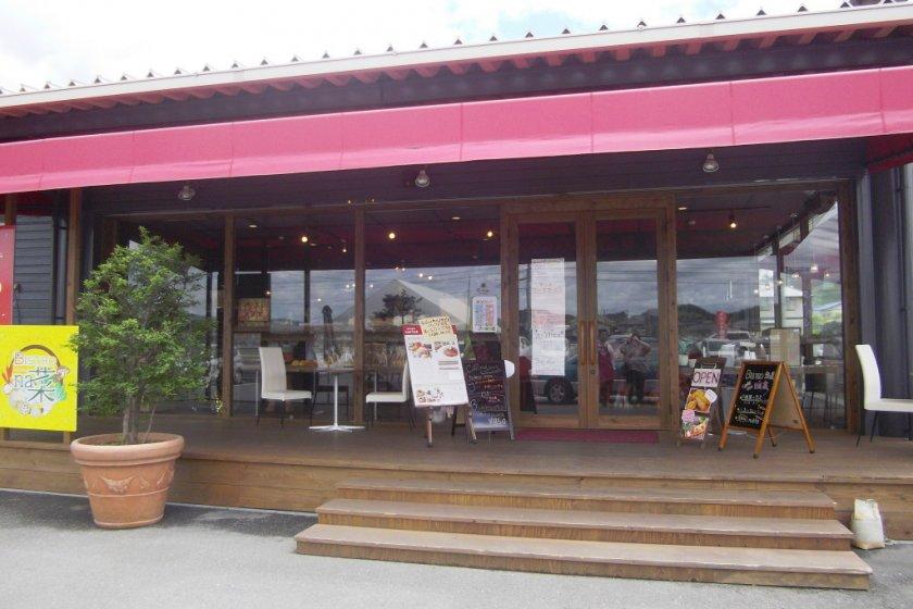 Yamate no Ichi Cafe, Soja City, Okayama Prefecture