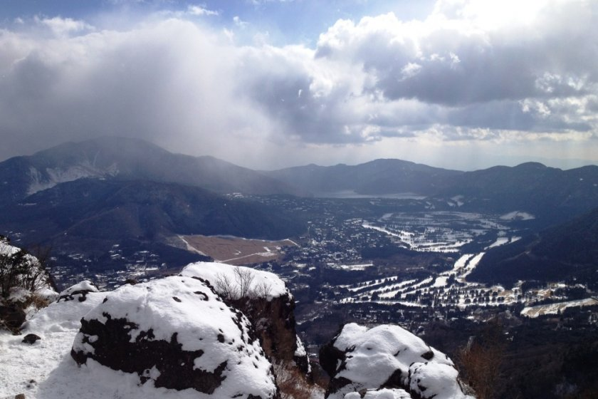 The view from the summit