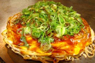 Hiroshima-style Okonomiyaki