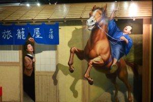 ภาพส่วนใหญ่เป็นวัฒนธรรมญี่ปุ่นแบบย้อนยุค
