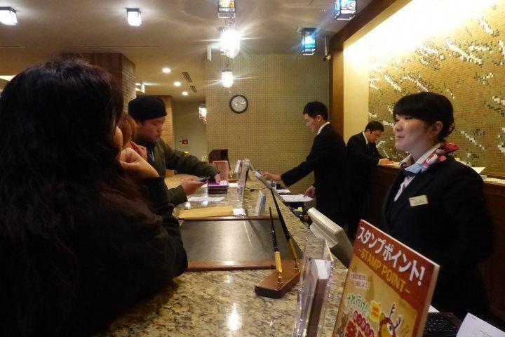 สุดยอดโรงแรมที่ Dormy Inn Otaru