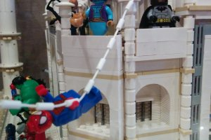 Spiderman and Batman call the Taj Mahalhome!