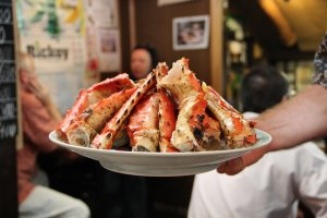 A visit to Andy's may not be complete without an order of crab legs. There is half size and full size. Prices do vary so ask before making the order