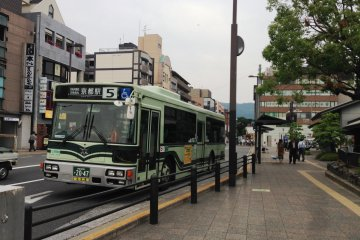 Bus 5 to Kyoto Station
