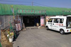 สำนักงาน คาเฟ่ และร้านหน้าทาโดะ กรีน ฟาร์ม