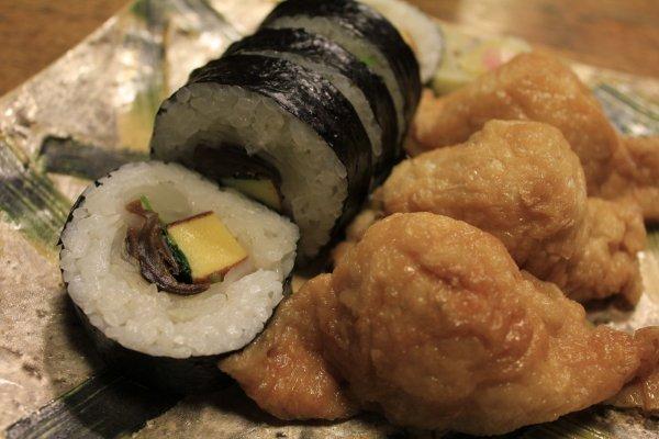 Inari and Maki Sushi